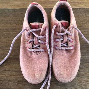 Allbirds wool runners, Sunset pink/orange